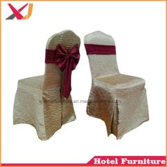 Used Spandex Chair Covers Grey Kitchen Chairs China Wedding Banquet Polyester Cover For Sale