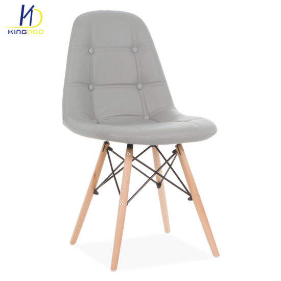 eames leather chair dining pride mobility lift parts china factory direct solid bistro series soft pu covered living room chairs pictures