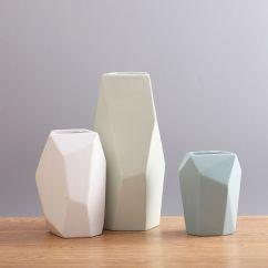 Living Room Ornaments Modern Decor Ideas 2017 China Ceramic Vase Creative Colorful Geometric Flower Decoration Pictures Photos
