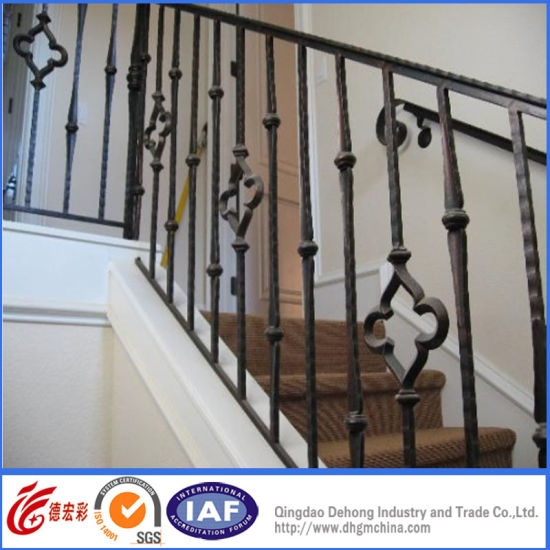 Eternal Wrought Iron Handrail Galvanized Handrail China Handrail | Cast Iron Handrails For Stairs | Baluster Curved Stylish Overview Stair | 1920'S | Iron Railing | Exterior Stair | Georgian