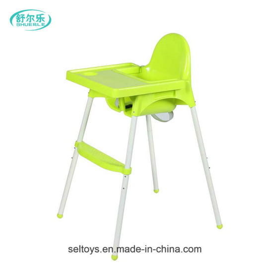 baby eating chair red tufted dining china plastic free child high
