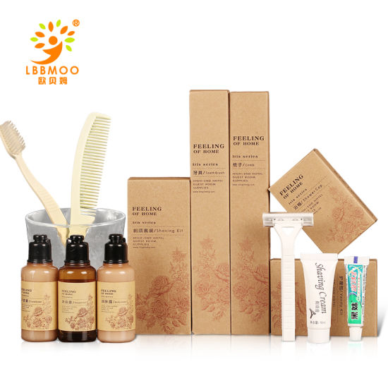 China Hot Sale 1 5 Star Hotel Bathroom Amenities Disposable Toiletries Sets Hotel Supplies Kit Wholesale Custom China Hotel Disposable Toiletries Sets And Hotel Supplies Kit Price