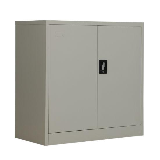 stockage de fer metal 2 portes armoire
