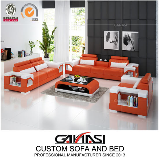 chine orange canape salon meuble de