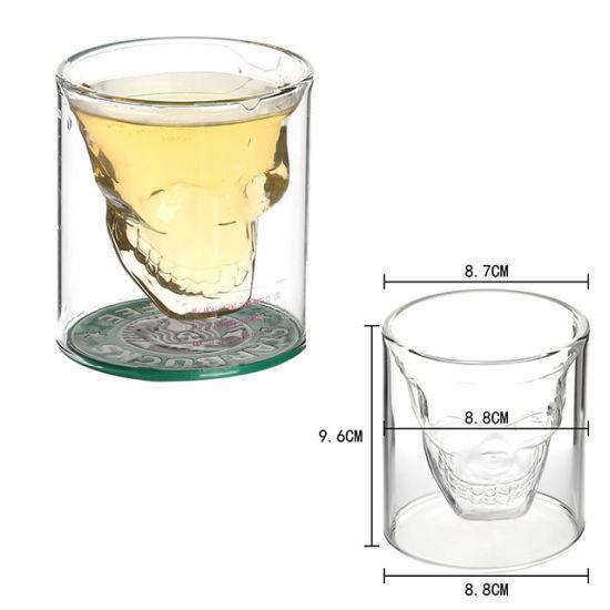 chine double paroi en verre de vin de