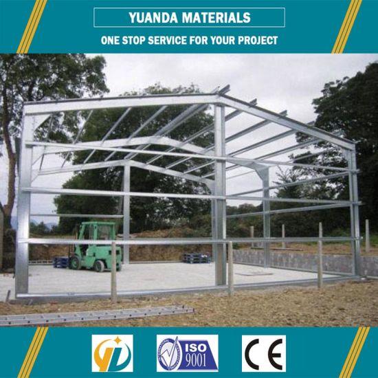 Chine China Pas Cher Cadre Metallique Garage Prefabrique Acheter Structure En Acier Sur Fr Made In China Com