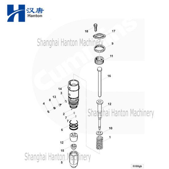 China 3047973 de Cummins inyector de combustible para