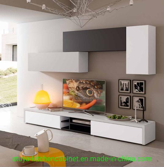 gros moderne en bois meuble tv