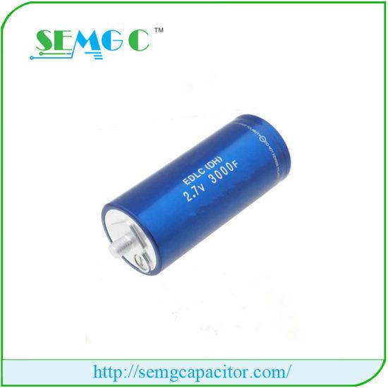China 3000uf 2 7 El Motor Funcione Capacitor Capacitor Super