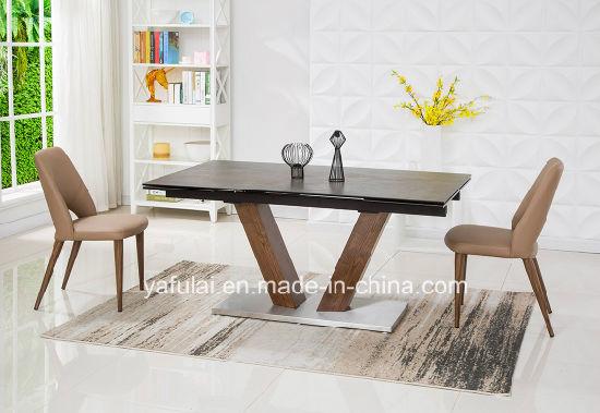 manger moderne en bois massif meubles
