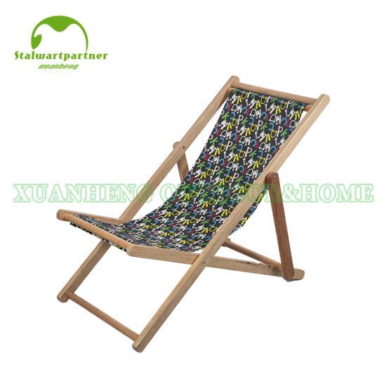 chine chaise pliante en bois pour l