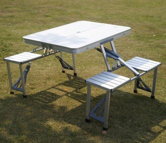 aluminium table camping table abs