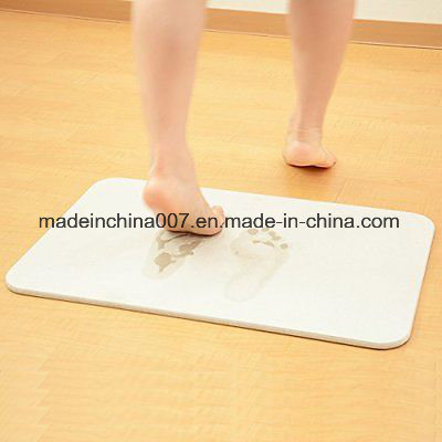 chine tapis de bain de la diatomite oem