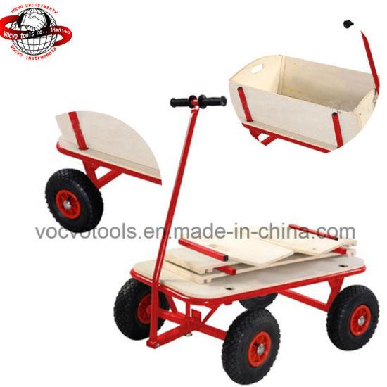 chine pliable 4 roues chariot de jardin