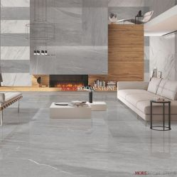 China Moderno diseño interior casas tienda profesional de porcelana sintética de color gris Buscar azulejos de mármol Comprar La porcelana suelos de baldosas en es made in china com