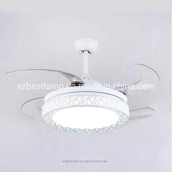 ventilateur de plafond de lumiere led