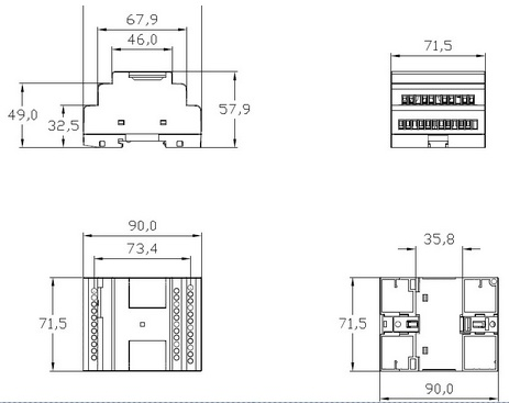 China Factory Price for Programmable Logic Controller PLC