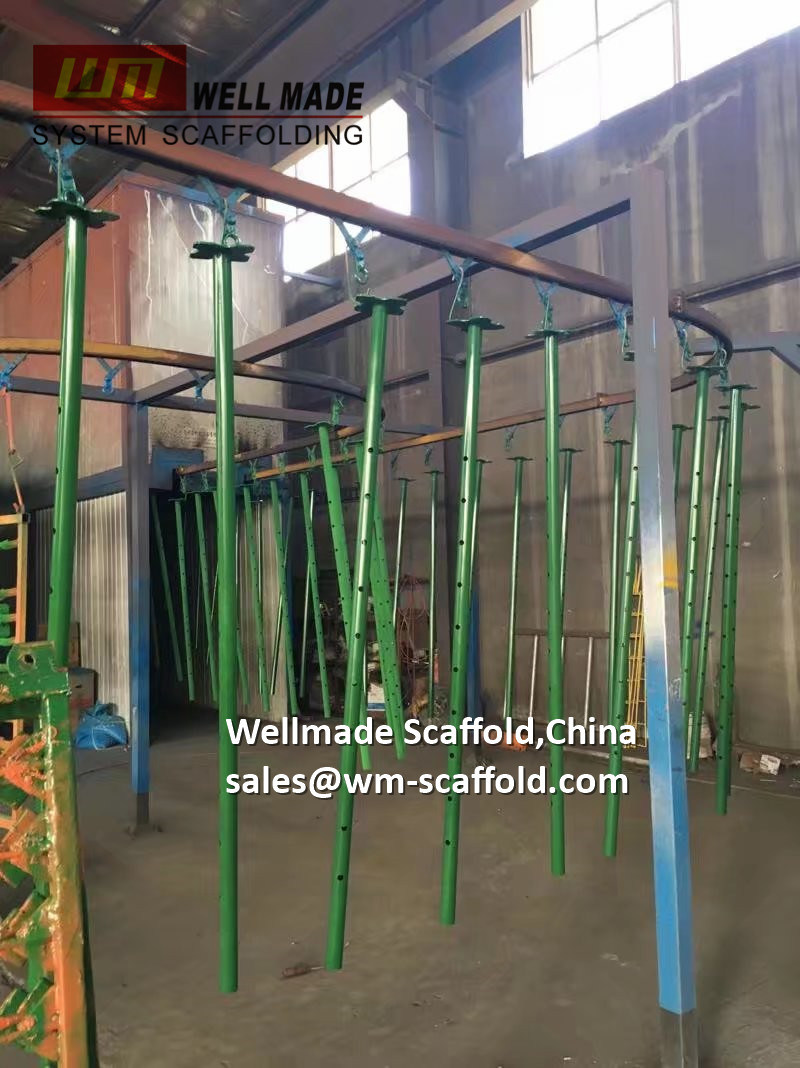 China Adjustable Scaffolding Jack Poles-Concrete Shuttering Material-Acrow Prop Formwork - China Formwork. Acrow Props