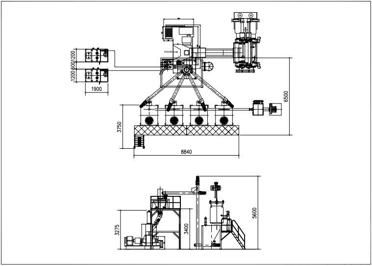 China Automatic Weighing and Feeding Upstream Equipment