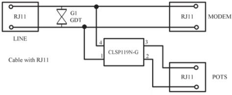 China ADSL 2+ & VDSL 2 Splitter Over ISDN for Europe