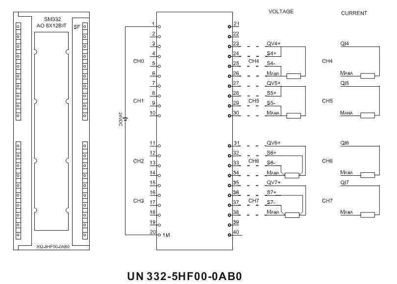 China Sm332 8 Analog Output 300 PLC Module 332-5hf00