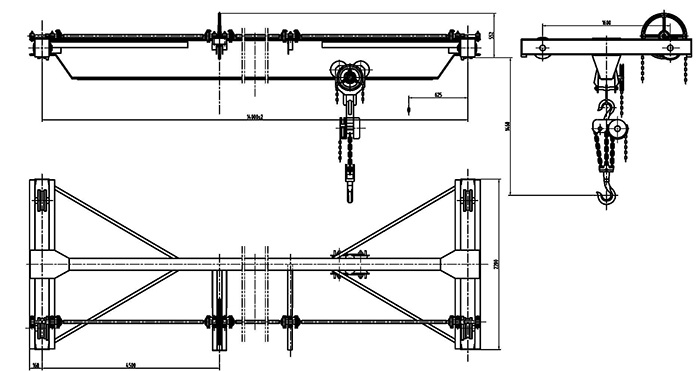 China Manual Crane End Carriage- The Most Economical