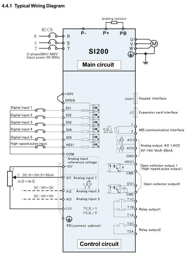 China 3.7kw 220/380VAC Outdoor Solar Pump System Inverter