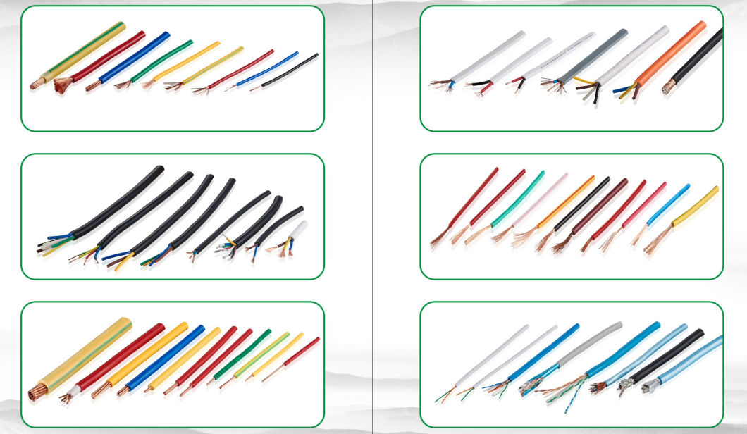 China Electric Conduction Wire Cable, PVC Cover Electrical