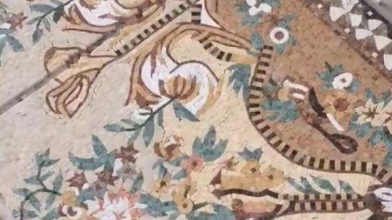 marbre de 8 chevaux mur