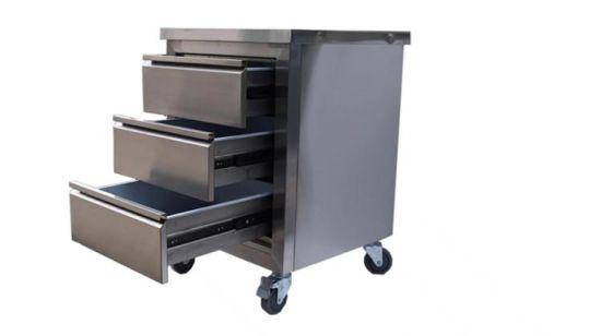 tiroir mobile armoire avec 4 roues