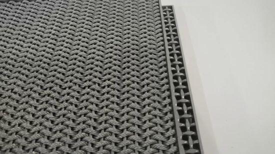 acier inoxydable mat tapis