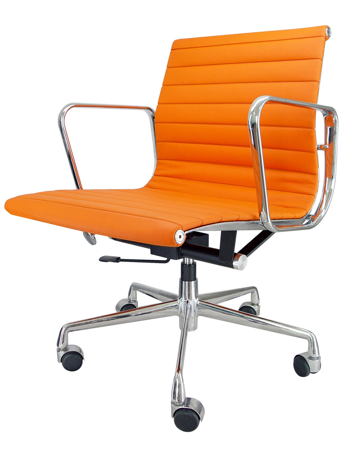 Orange Leather Chair China Orange Eames Chair Eoc Lme1 China Swivel Chair