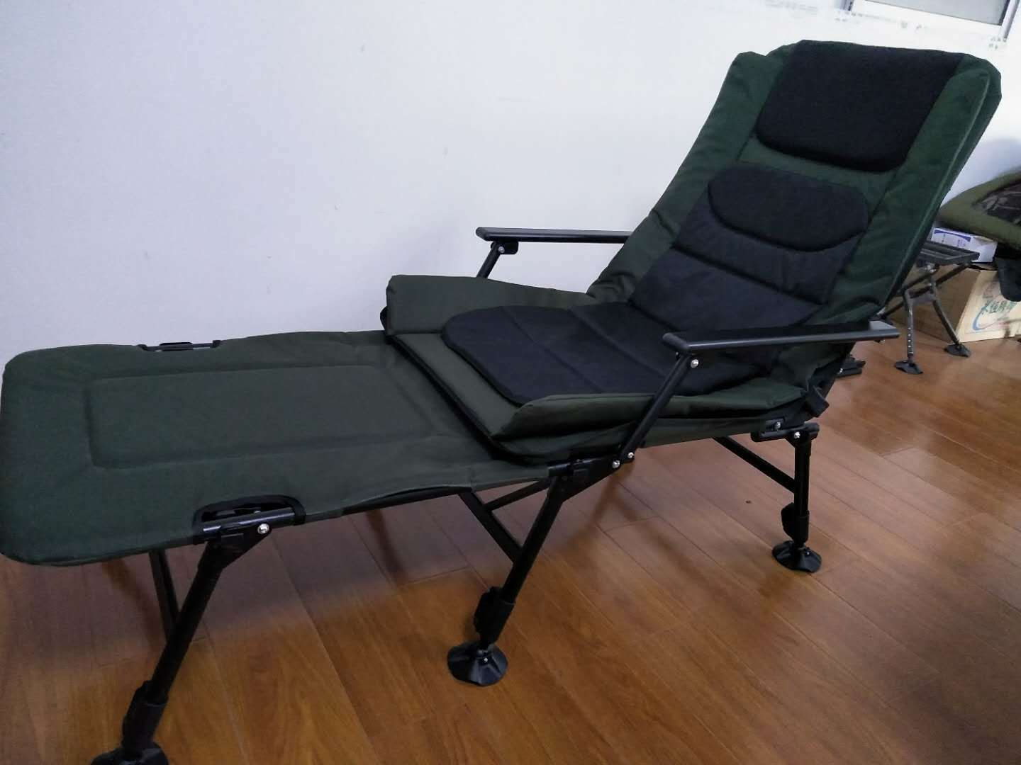 Foldable Bed Chair Hot Item Folding Carp Fishing Bed Chair Camp Recliner Beds Foldable Bedchair