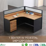 China Mfc Panel Call Center L Shape Glass Design Cubicle Cluster Partition Desk Workstation With Mobile Cabinet Drawer Ap L01 China Cluster Partition Desk Workstation Mfc Partition Desk Workstation