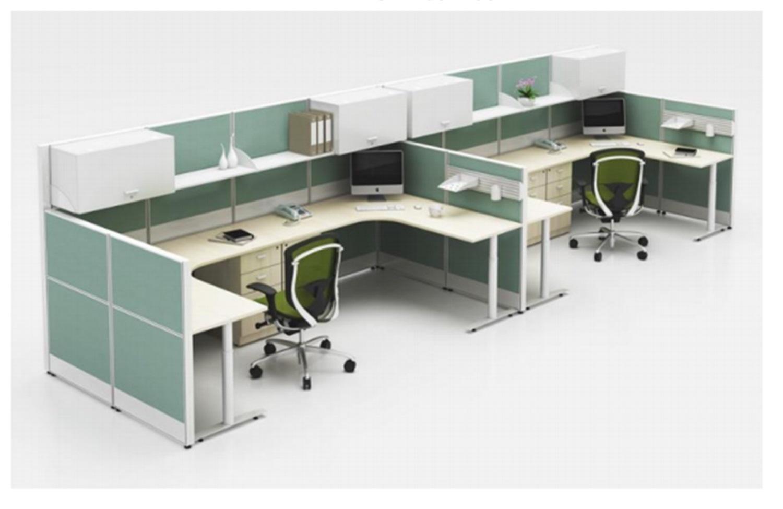 China Modern L Shape Office Cubicle Staff Workstation Desk China Office Workstation L Shape Workstation