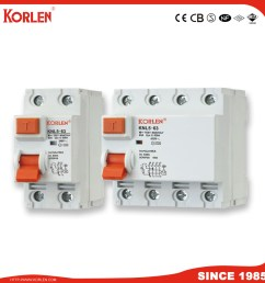 china 63a 1p n 3p n leakage residual current circuit breaker house hold rccb with ce cb tuv china residual current circuit breaker rccb [ 980 x 980 Pixel ]