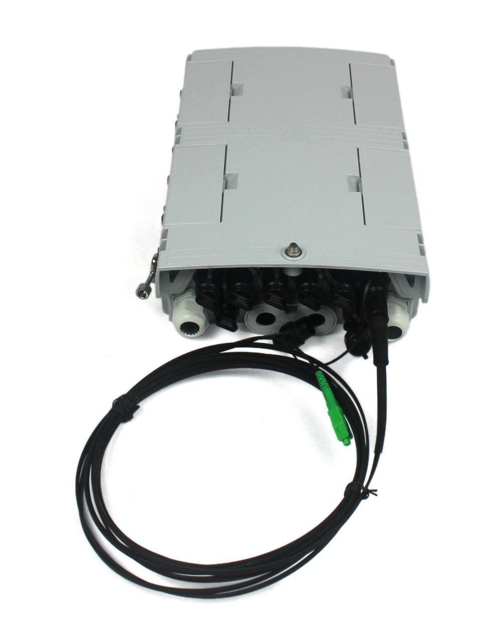medium resolution of china waterproof 8 ports fiber optic splitter box for 5mm drop cable china splitter box waterproof splitter box