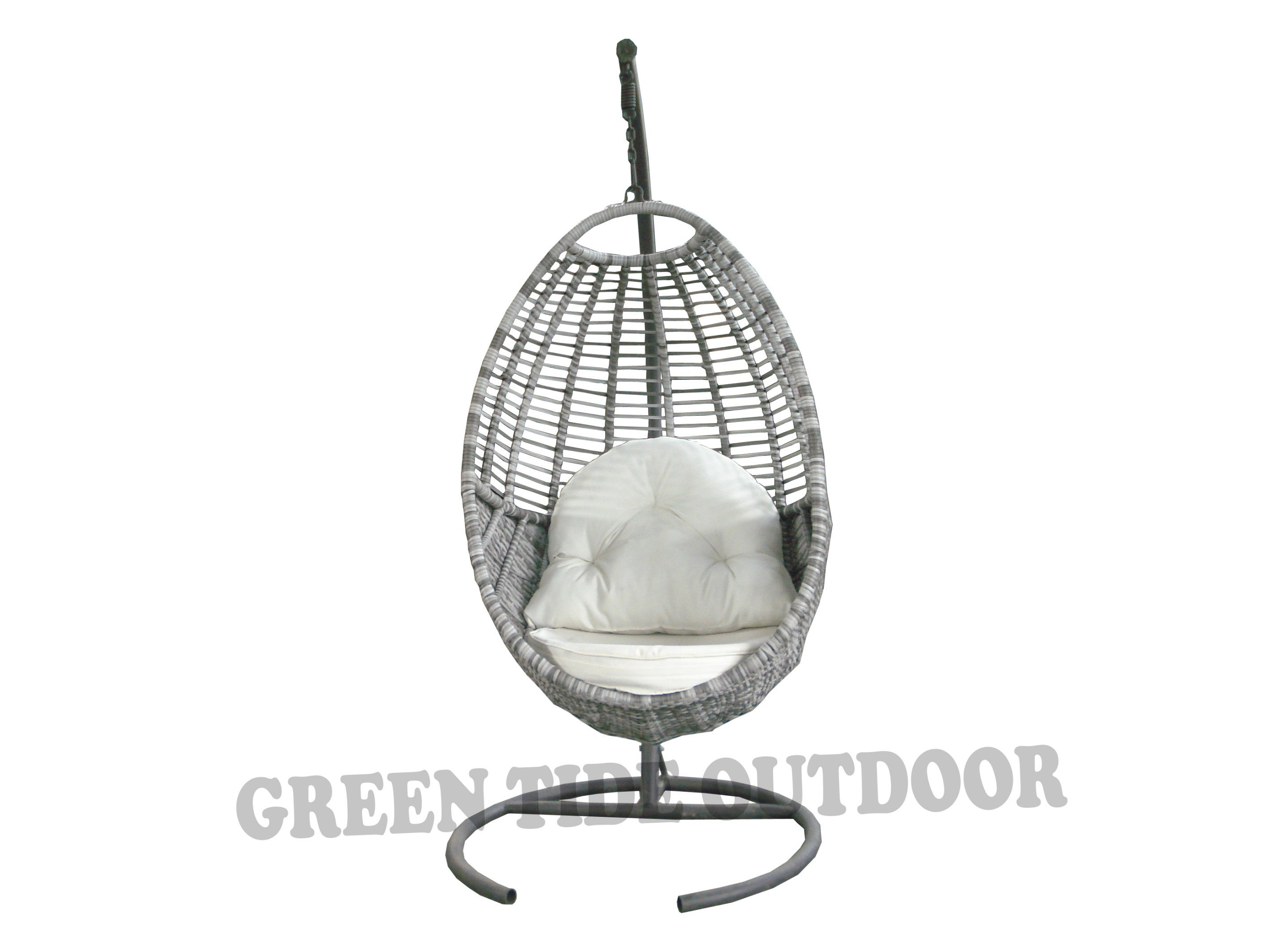 Hanging Patio Chair Hot Item Outdoor Patio Furniture Leisure Rattan Hanging Swing Egg Chair
