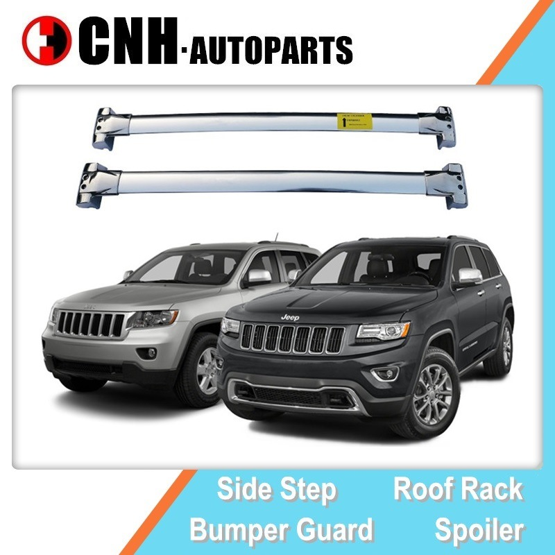 hot item stainless steel roof rack cross bar for jeep grand cherokee 2011 2014 2019