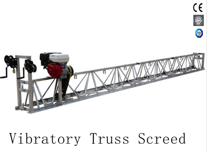 China High Efficient Concrete Vibrating Truss Screed with