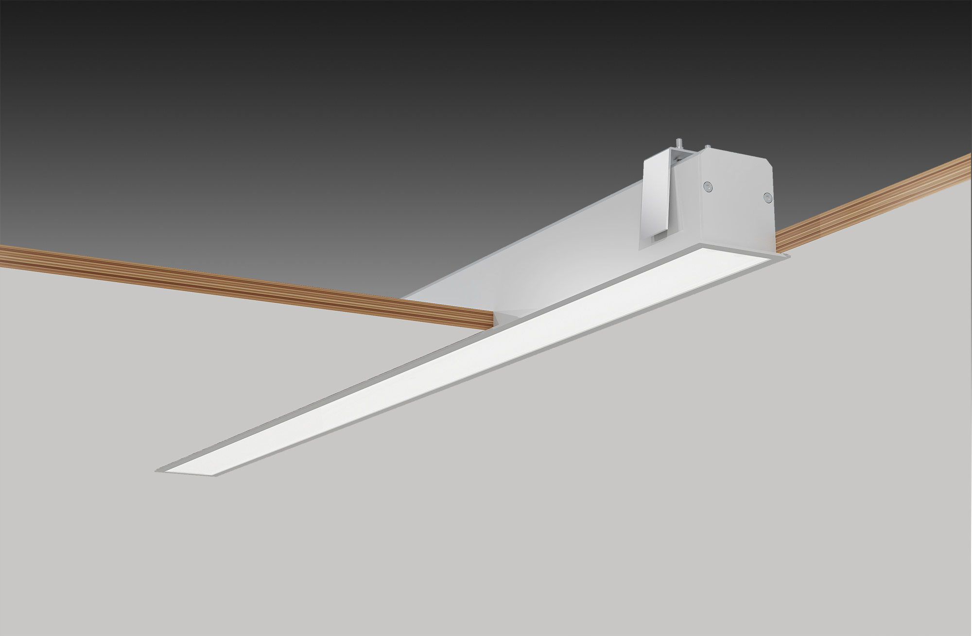 china led recessed linear light