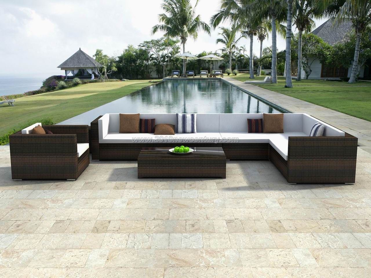 Awesome Rattan Garden Furniture  HGNVCOM