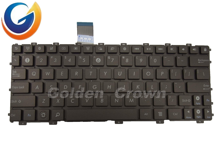 China Laptop Keyboard Teclado For Asus Pn Pem Brown