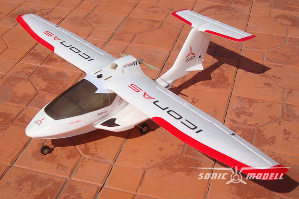 A5 Amphibious Epo 6ch 24ghz Radio Remote Control Electric Rc Airplane