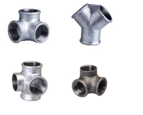 China Galvanized Malleable Iron Pipe Fittings (LSMG