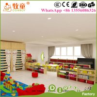China Children modern Wooden Daycare Furniture / Daycare ...