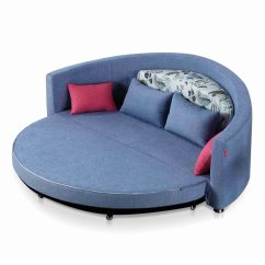 Modern Round Sofa Bed Line Furniture China Design Folding