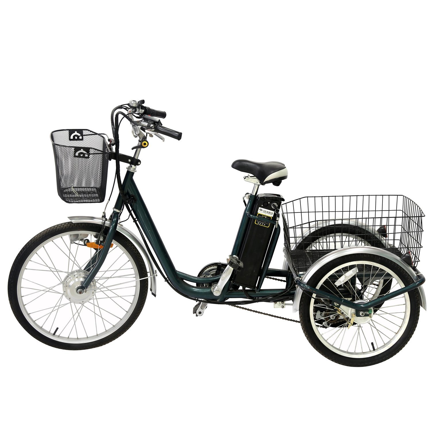 China Big Wheel Tricycle with Cabin on Sale for Elderly 24