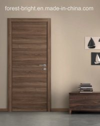 China Natural Veneered Wooden Flush Door Design MDF Living ...
