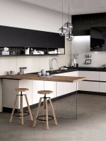 China New Modern Apartment Design Kitchen Cabinet for ...